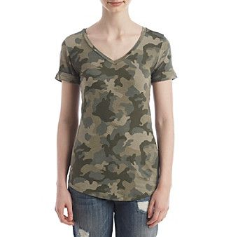 Pink Rose® Camouflage Tee
