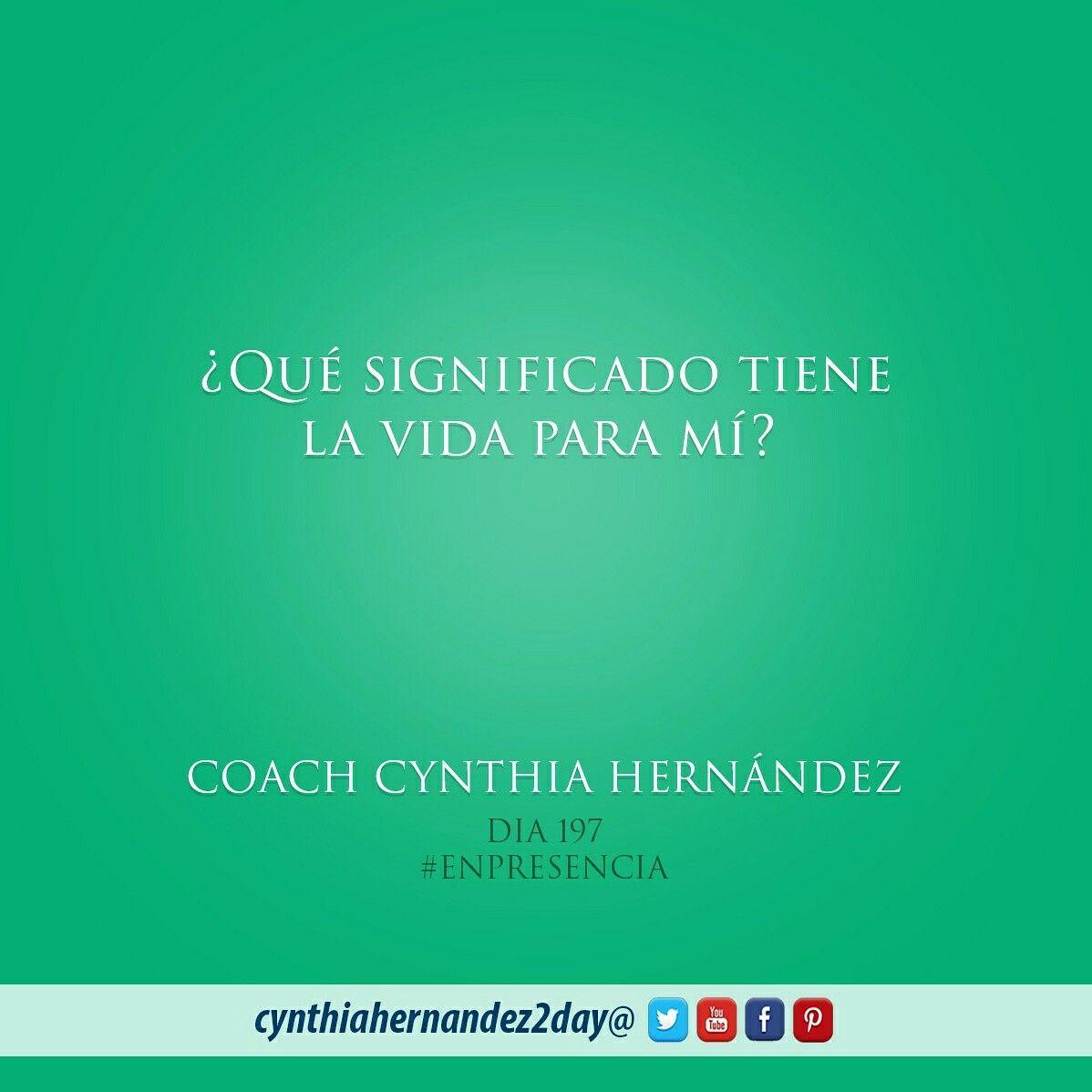 Dia 197. En Presencia! Nuestras acciones deben reflejar el valor que le damos a la propia vida #2day #enpresencia #coaching #goals #success #certifiedlifecoach #makeithappen #coach #coaching #lifecoaching #coach #metas