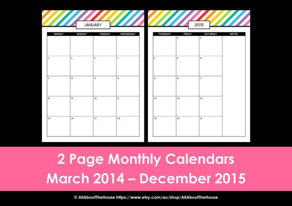 Grey Daily Desk Planner - Instant Download - Printable A4 Template