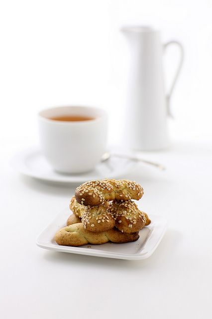 Tea and Koulouria | Flickr - Photo Sharing!