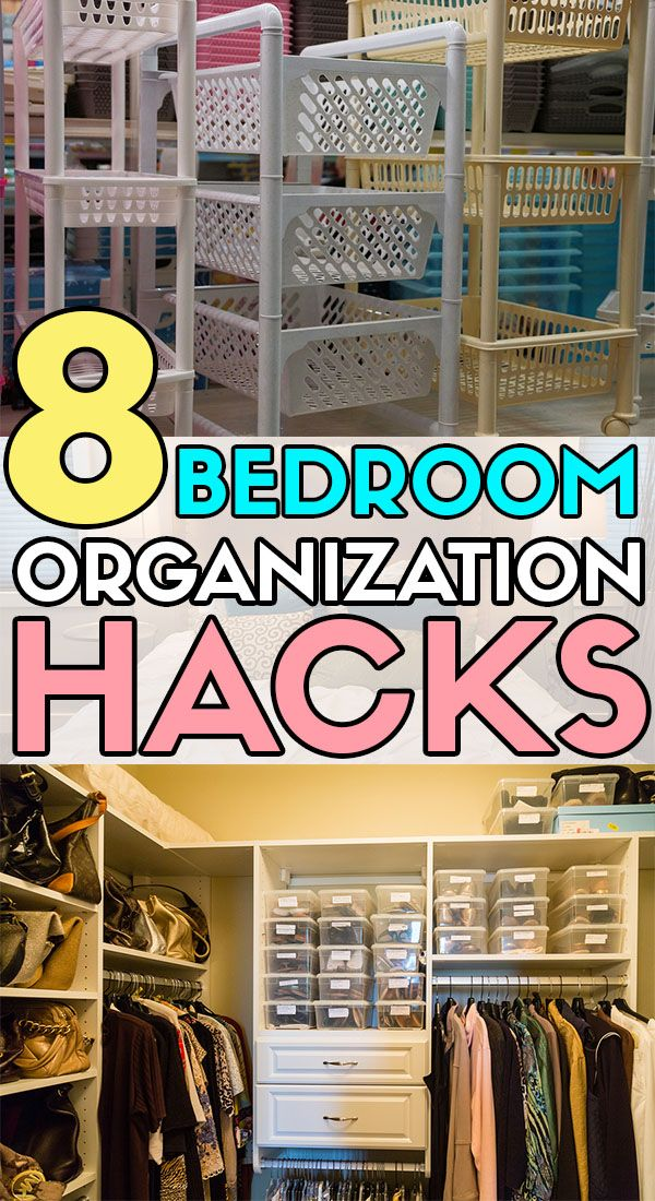 11 Bedroom Decluttering and Organizing Hacks That