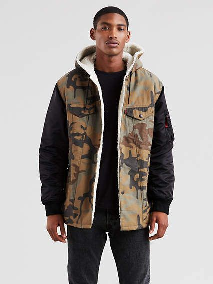 4505081dc5015f Levi s x Justin Timberlake Limited Edition Hooded Trucker Jacket