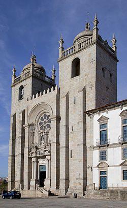 Se Do Porto Wikipedia A Enciclopedia Livre Monumentos Portugal Catedral