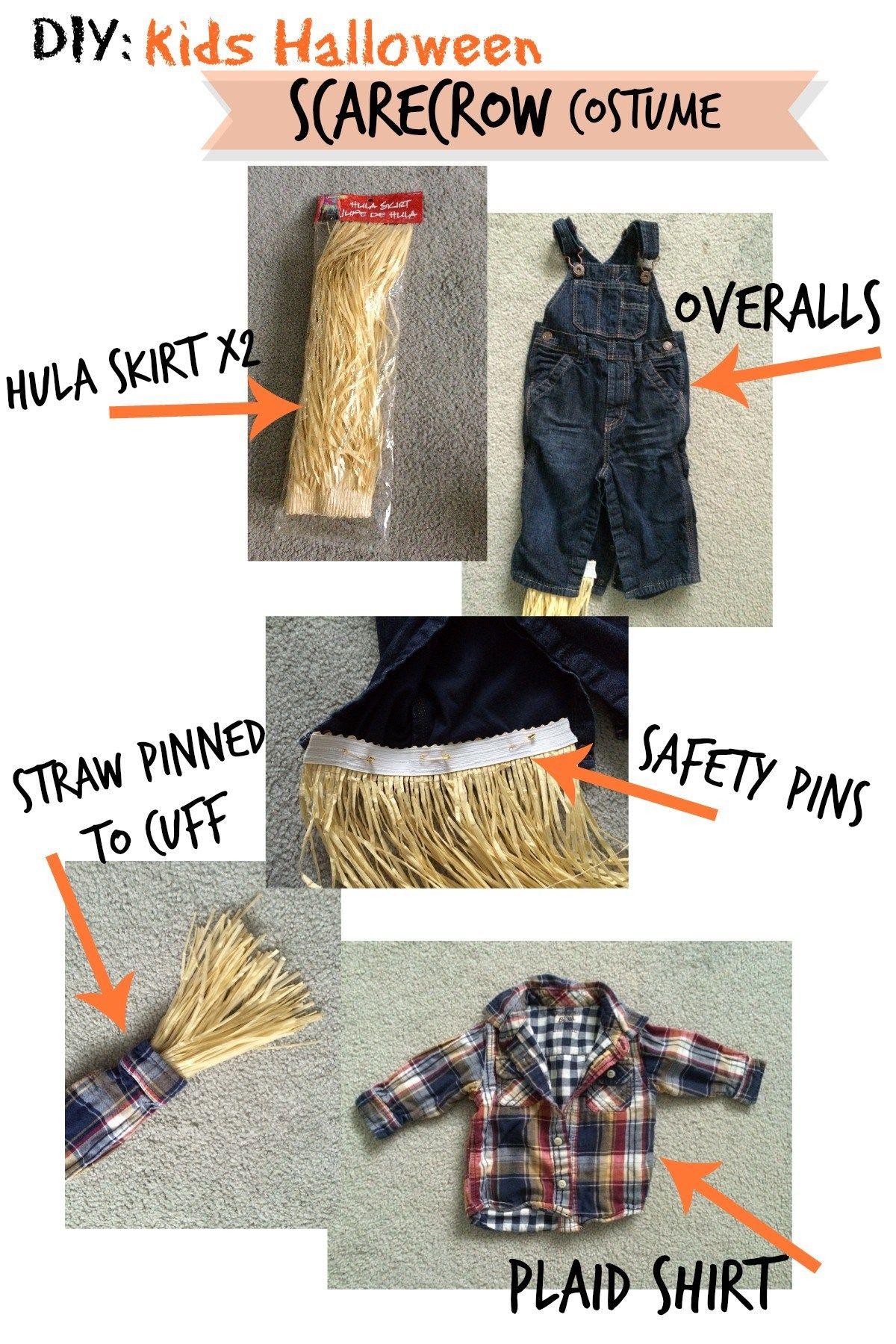 Halloween Recap | DIY Scarecrow Costume