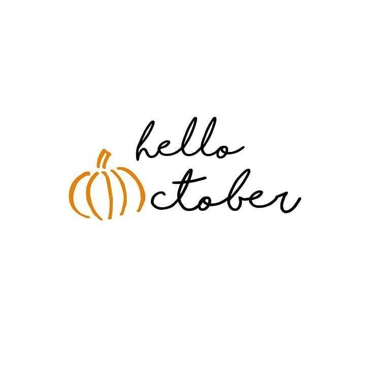 October! October my month  October my home land month October is beautiful October is kind So stay kind it makes you beautiful.  Have a fabulous beautiful month HAPPY NEW MONTH to you. * * * 2019