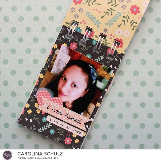 Minialbum: Simply Me - Minialbum en Frasco | Caroli Schulz Scrapbooking