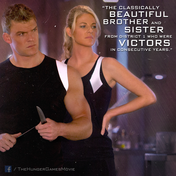 The victorious sibling duo of District 1 PN - Gloss and Cashmere. #CatchingFire