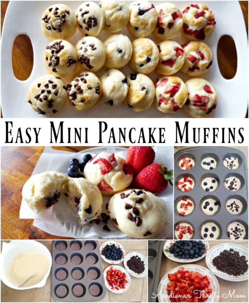 Photo of Easy Mini Pancake Muffins