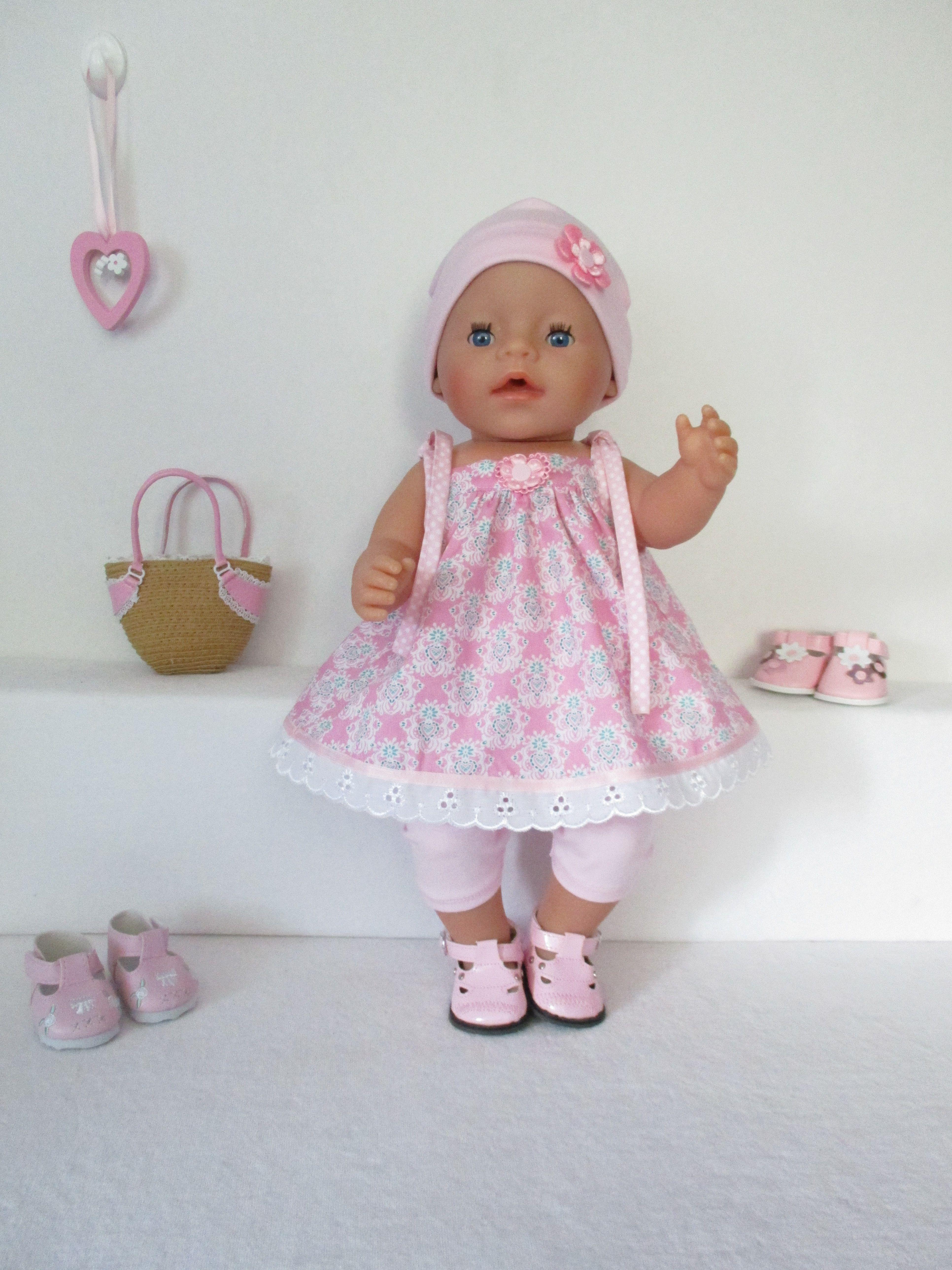 Voor Baby Born Girl een schattig setje | Poppenkledingset ...