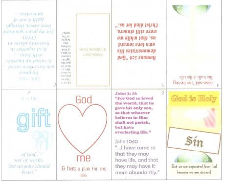 Salvation Minibook | Printables | Salvation scriptures, Mini