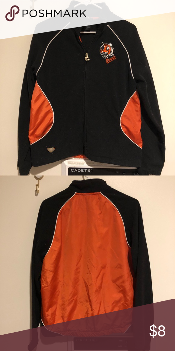 a1974dfc Cincinnati Bengals zip up jacket Perfect additional layer for those ...