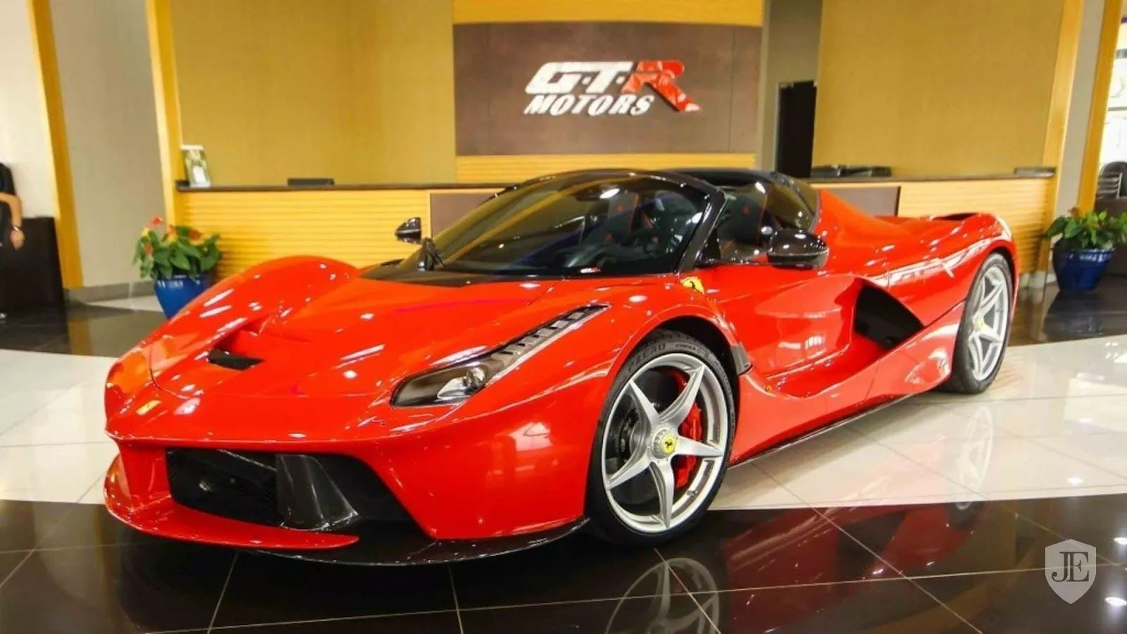 Red Laferrari Aperta In Dubai Has A 7 3 Million Asking Price