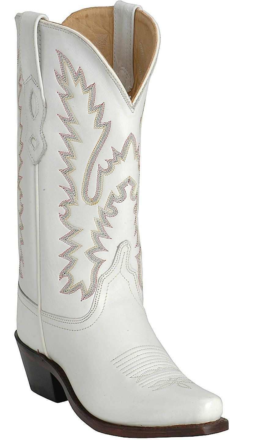 c8d2102fc7e Old West Jama® Ladies Classic White Wedding Boots | Cavender's Boot ...