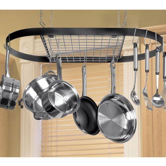 Wrought Iron Hanging Pot Rack Pot Rack Hanging Pot Rack