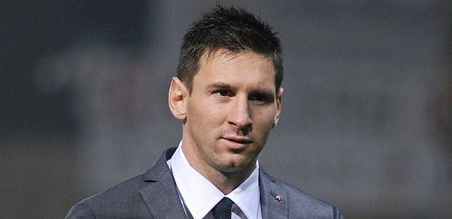 New hairstyles for Lionel Messi