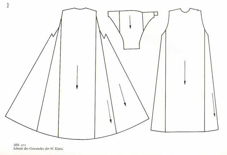 Schnittmuster kleid mittelalter kostenlos