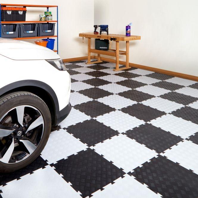 Interlocking Vinyl Floor Tiles (With Images