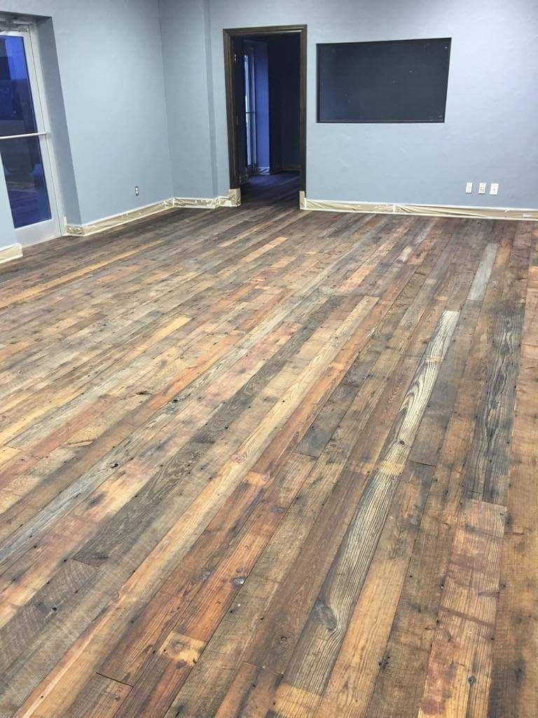 T G Flooring From Old Barns And Grainerys Remilled To Use In New Construction Reclaimedflooring Reclaimedwood Rustic Flooring Rustic Wood Floors Flooring