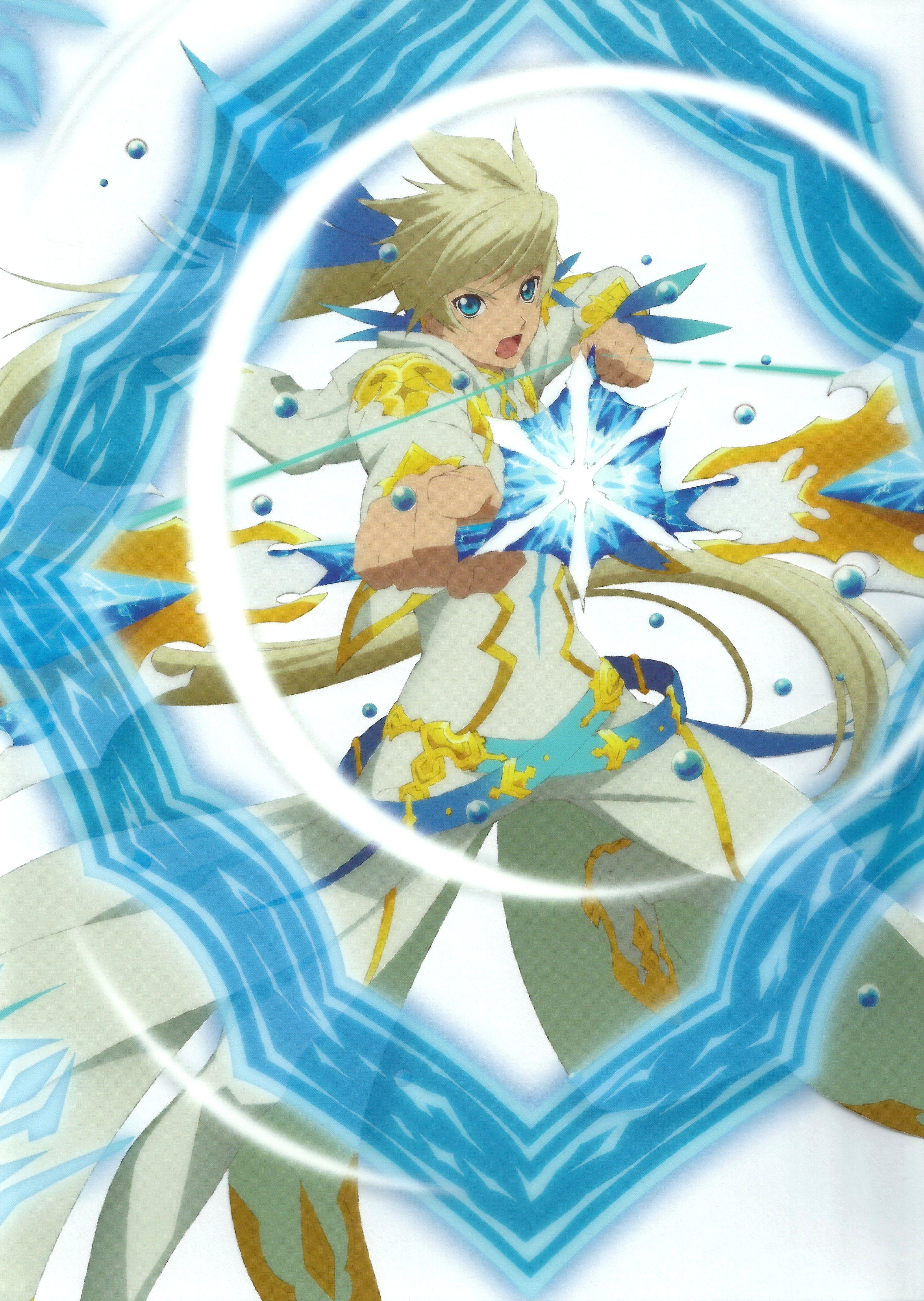 Sorey In Armatization Form W Mikleo Anime Garcons Manga