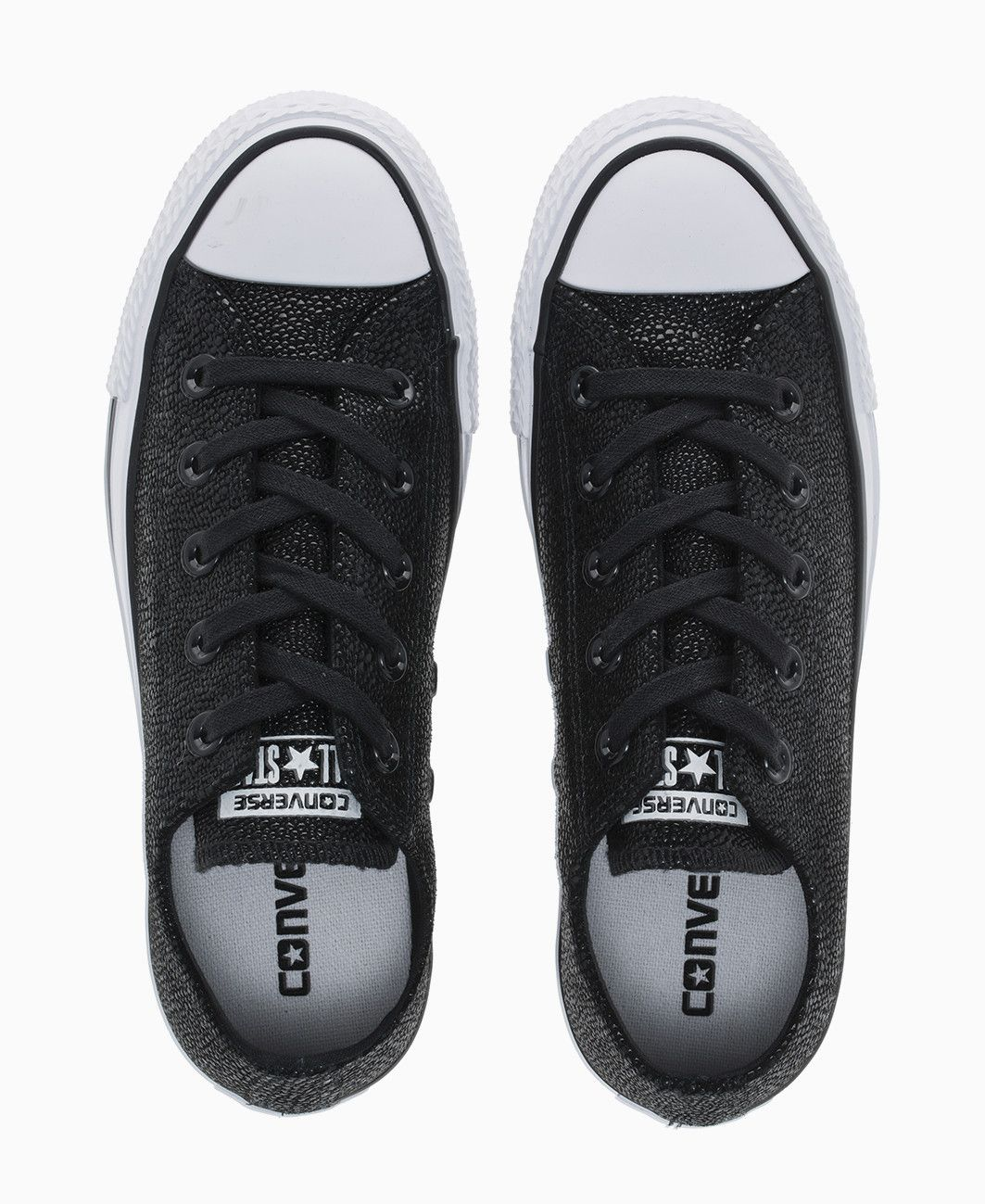 bd11d4b44d37 Converse - Stingray Leather Allstar Ox Trainers - Black - Shoes   Trainers  - Womens