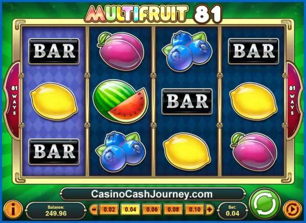 Disco Fruits Slot Machine