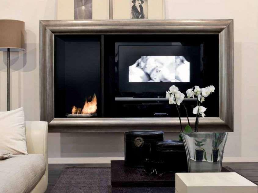 Mobili per la tv - Cornice per la tv | Design della parete ...