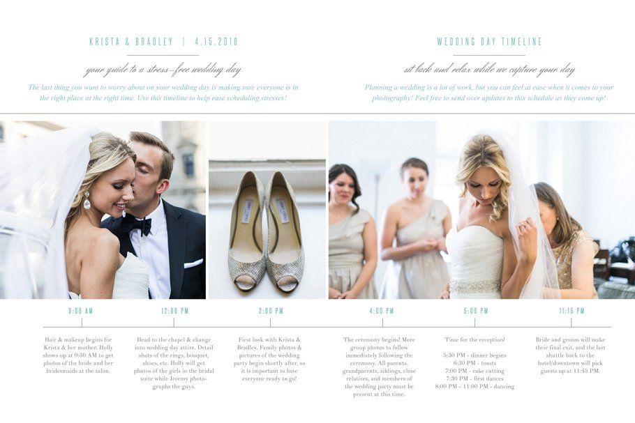 Photography Wedding Timeline Wedding Photography Timeline Templates Wedding Timeline Template Wedding Timeline Wedding Itinerary Template