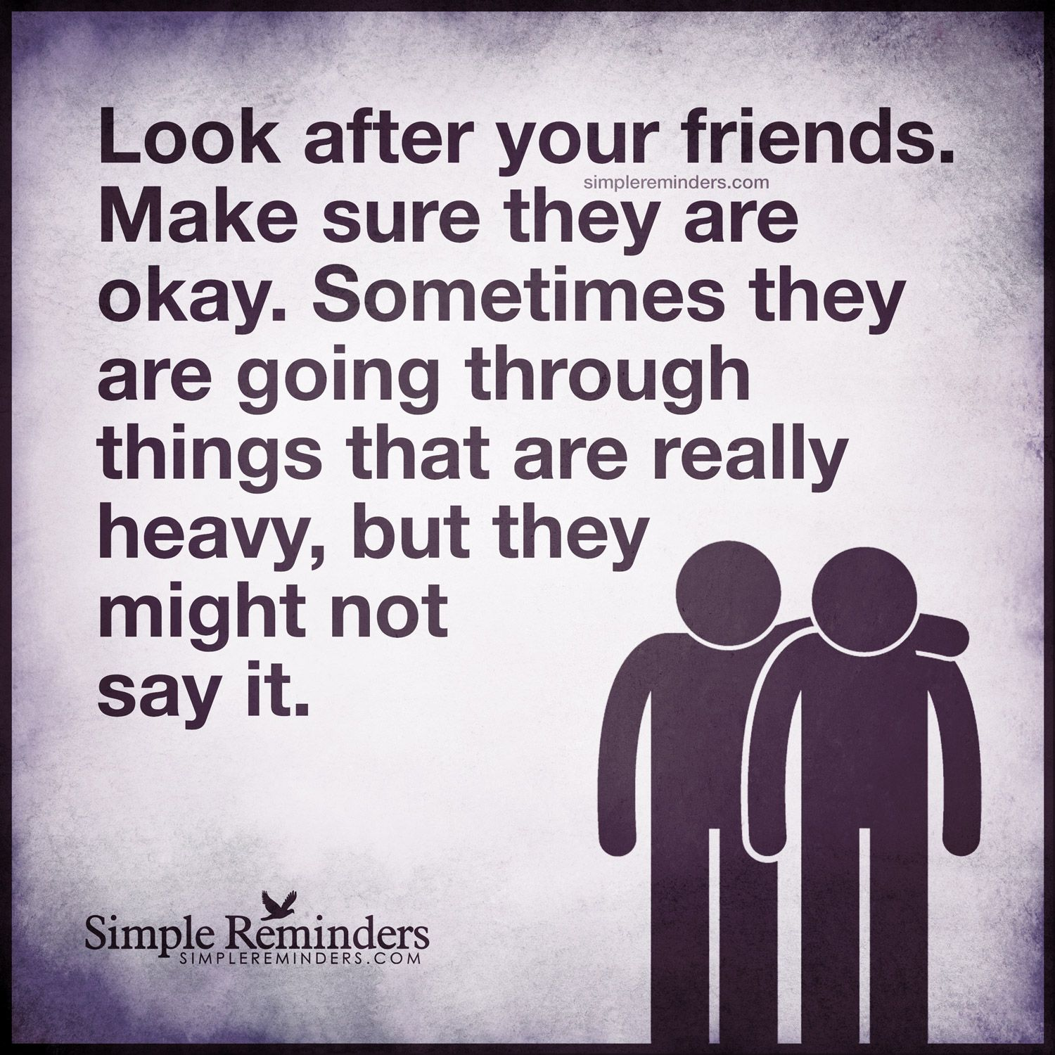 Look After Your Friends By Unknown Author