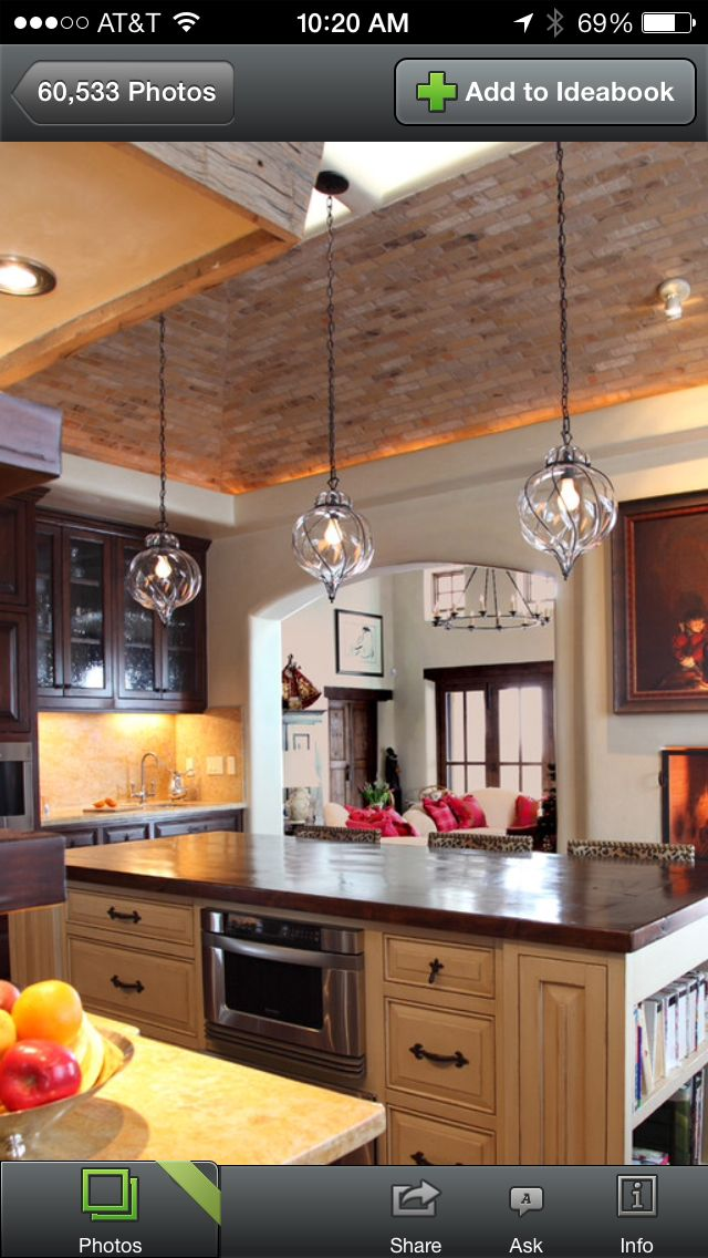 perfect pendants for over our bar top  eclectic kitchen