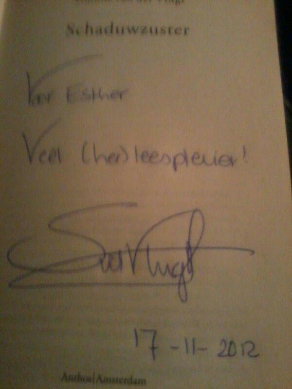Handtekening  Simone vd Vlugt