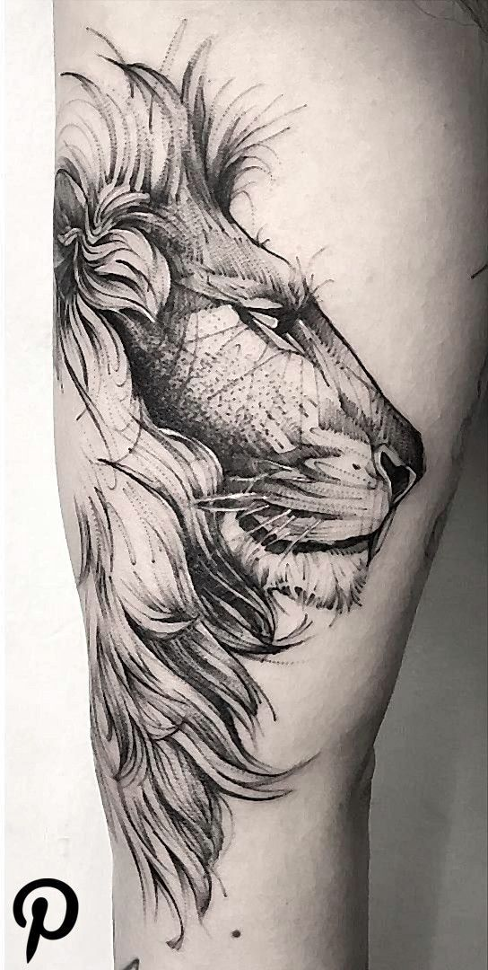 Lion Tattoo Meaning – Lion Tattoo-Ideen für Männer und Frauen mit Fotos – Ta…