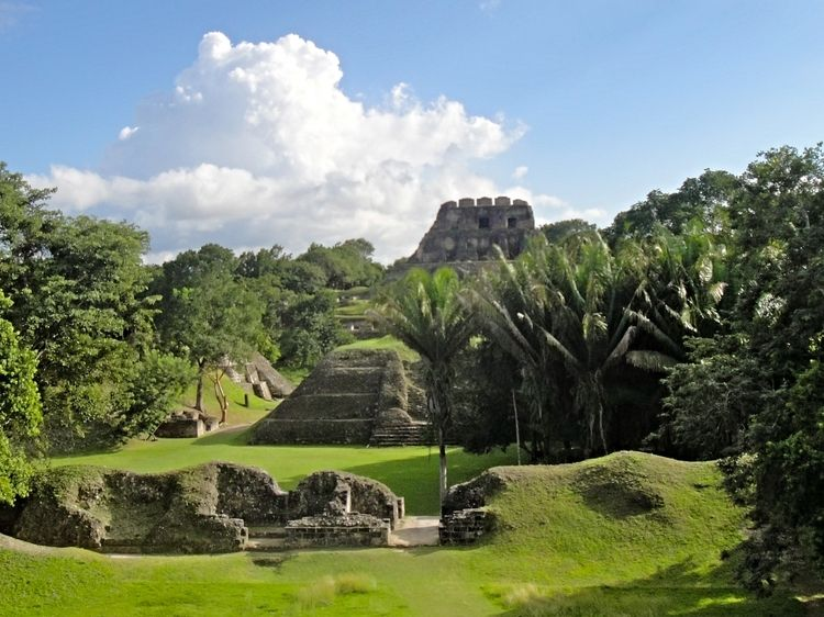 #Xunantunich is one of Belize's loveliest and most accessible #Maya Sites #Belize #Adventures #BelizeVacationPackages #SabreWingTravel