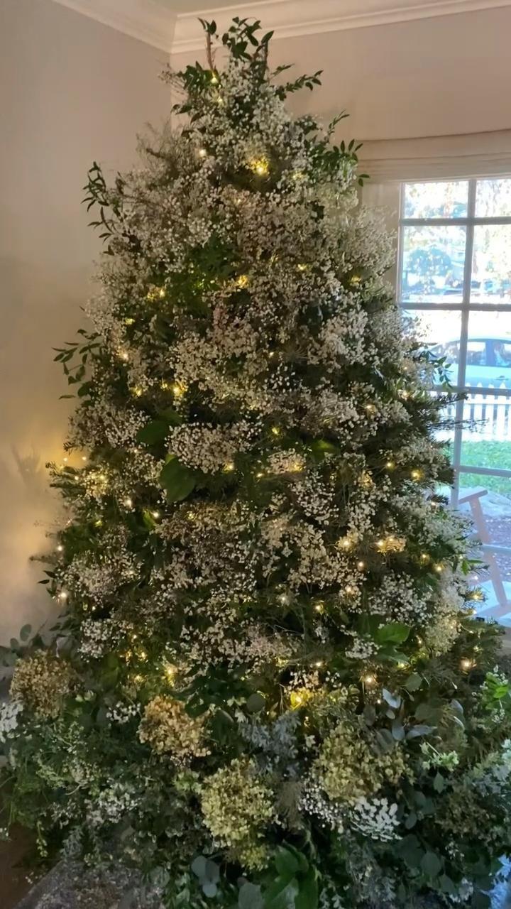 New Year's Christmas Tree Transformation
