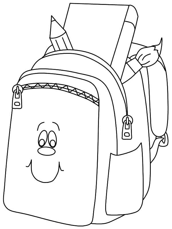Pin Oleh Tocolor Di Backpack Coloring Pages Hello Kitty Halaman Mewarnai Sketsa
