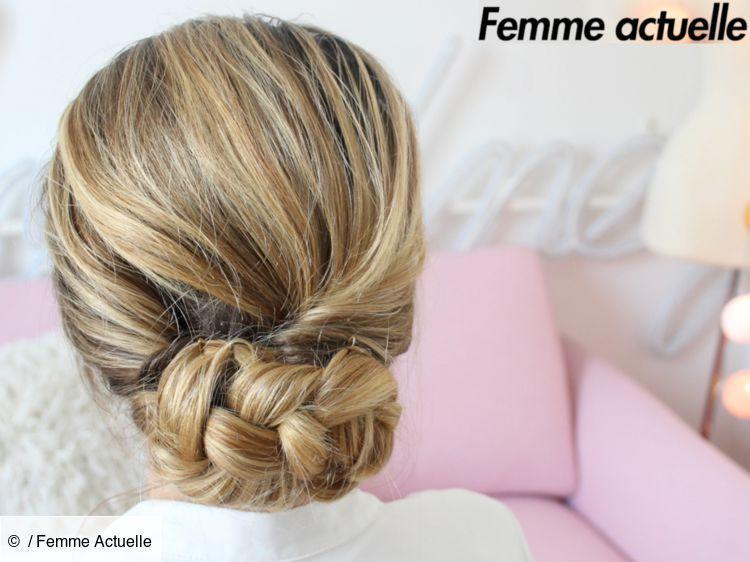 Tutoriel coiffure : le chignon bas #Bas #chignon #coiffure #tutoriel