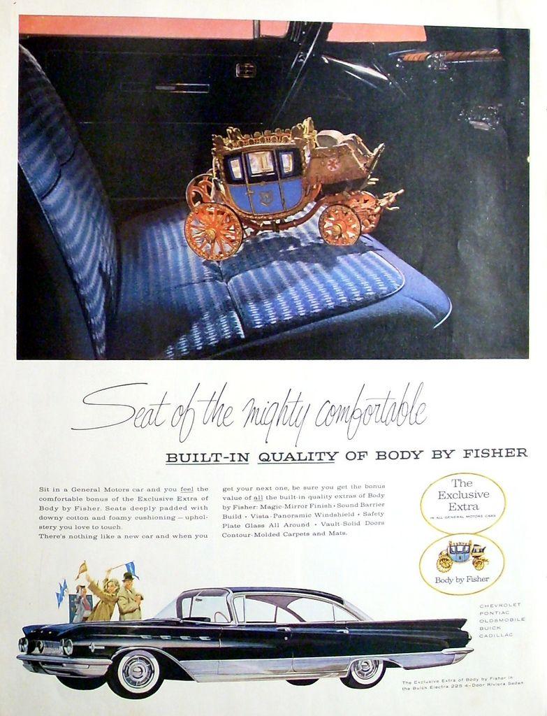 1960 Buick Electra 225 Riviera Sedan Buick Automobile Advertising Retro Cars