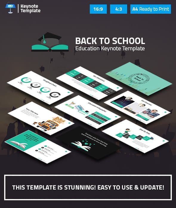 Education And Learning Keynote Presentation Template