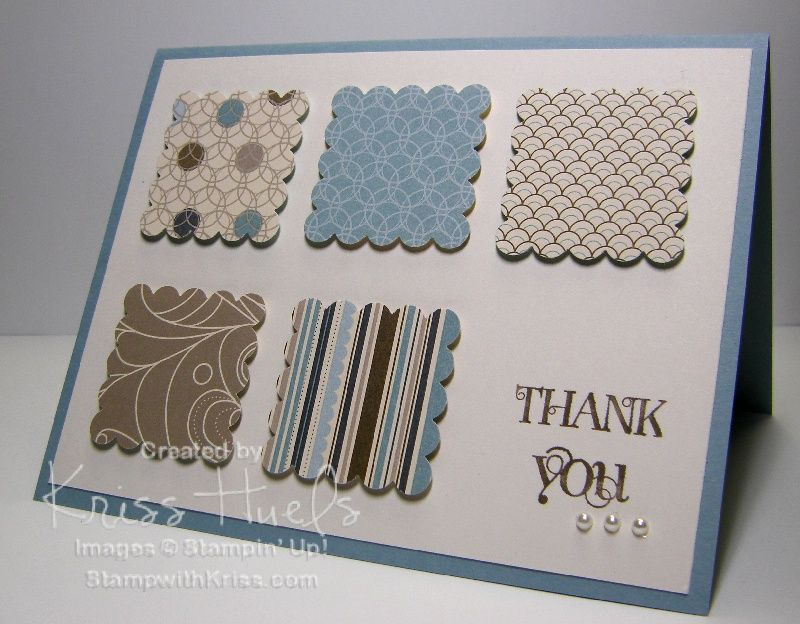homemade thank you cards | ... simple thank you card you can make ...