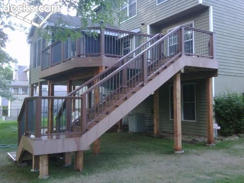 Stairs Off Deck