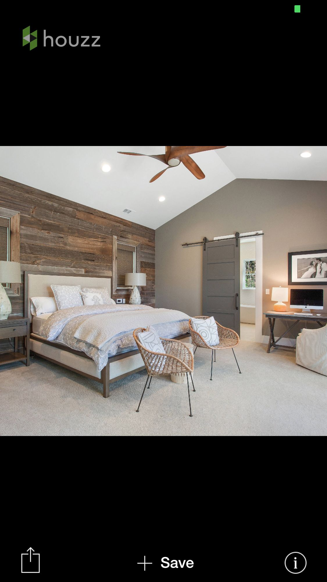 light gray room with wood accent wall Google Search