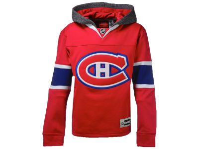 Montreal Canadiens NHL Youth Jersey Hoodie  9c221c7d964