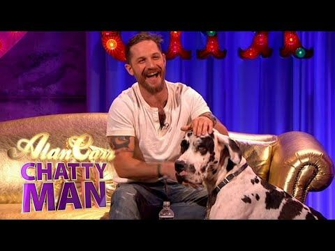 Tom Hardy Holding Dogs P.2! - Alan Carr: Chatty Man - YouTube