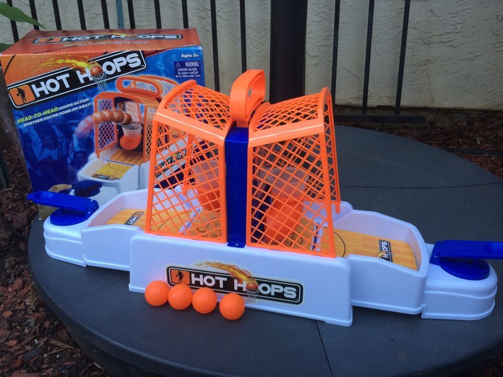 Hot Hoops Tabletop Basketball Game With 4 Balls Toy MGA Entertainment | EBay