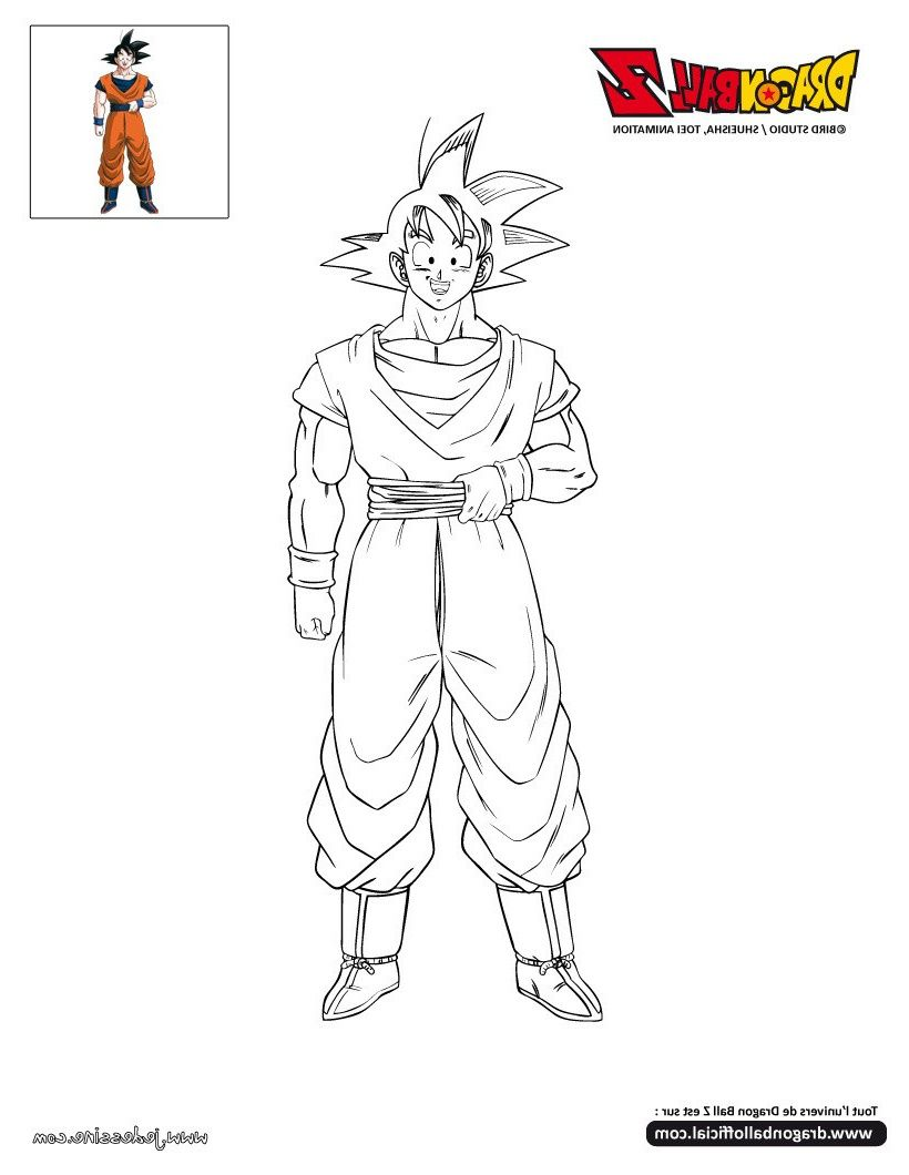 Dragon Ball Super Coloriage 8 Incroyable Dragon Ball Super