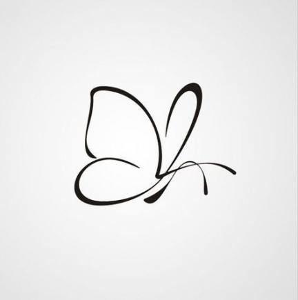 70+ New Ideas Tattoo Small Butterfly Symbols