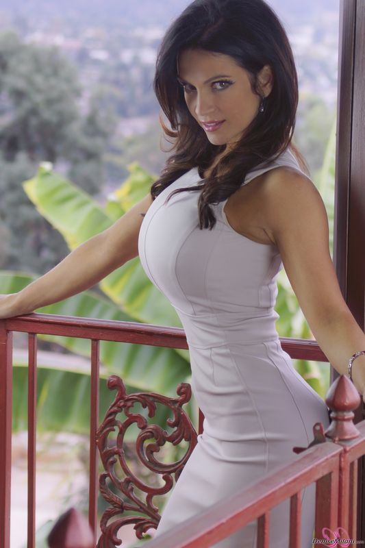 Denise milani balcony hot dress pinterest milani for Balcony models