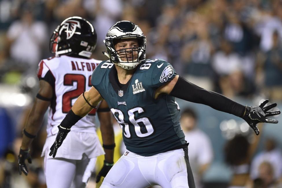 Philadelphia Eagles' Zach Ertz laments drops in season