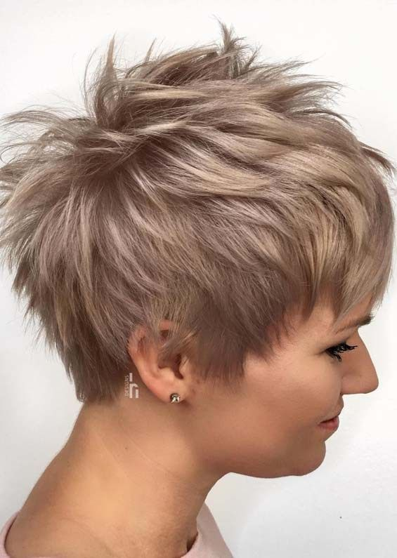 Unique Styles Of Pixie Haircuts to Try Nowadays #shortpixiehaircuts
