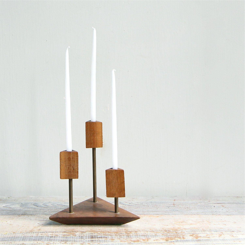 Danish modern iron candle holdervia etsy candles pinterest