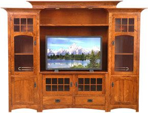 oak entertainment center amish outlet winchester entertainment center in 11063